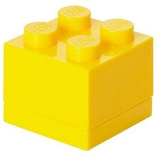 LEGO Mini Box 46x46x43mm - žlutý