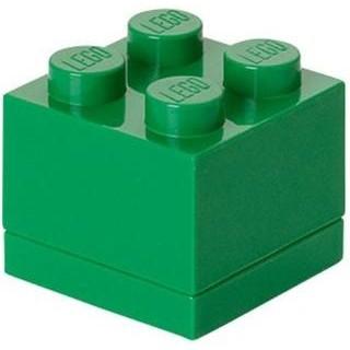 LEGO Mini Box 46x46x43mm - tmavě zelený