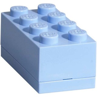LEGO Mini Box 46x92x43mm - světle modrý