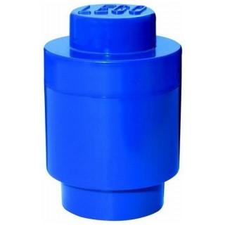 LEGO úložný box kulatý o123x183mm - modrý