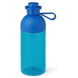 LEGO láhev na pití - transparentní modrá