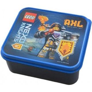 LEGO NEXO Knights box na svačinu 160x141x66mm - modrý