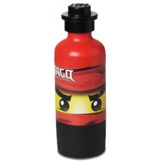 LEGO Ninjago láhev na pití o65x190mm - červená