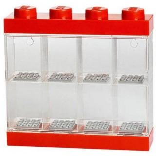 LEGO sběratelská skříňka - červená