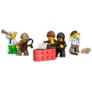 LEGO sběratelská skříňka - černá