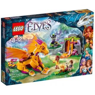 LEGO Elves - Lávová jeskyně ohnivého draka