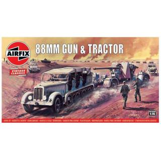 Classic Kit VINTAGE military A02303V - 88mm Flak Gun & Tractor (1:76)
