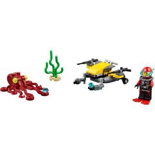 LEGO City - Potápěčský hlubinný skútr