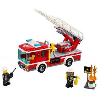 LEGO City Fire - Hasičské auto s žebříkem