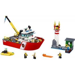 LEGO City Fire - Hasičský člun