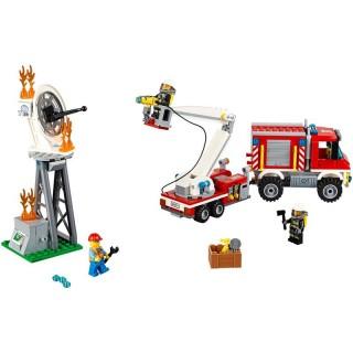 LEGO City Fire - Zásahové hasičské auto