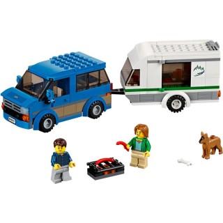 LEGO City Great Vehicles - Dodávka a karavan