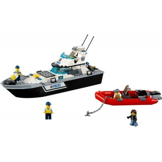 LEGO City Police - Policejní hlídková loď