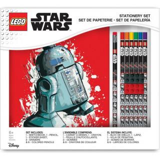 LEGO stationary set se zápisníkem Star Wars