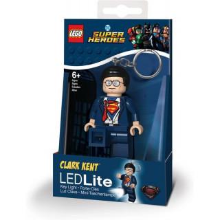 LEGO svítící klíčenka - DC Super Heroes Clark Kent