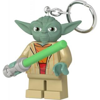 LEGO svítící klíčenka - Star Wars Yoda se světelným mečem