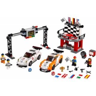 LEGO Speed Champions - Porsche 911 GT vcílové rovince