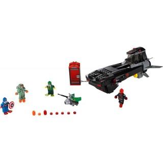 LEGO Super Heroes - Útok s ponorkou Iron Skulla