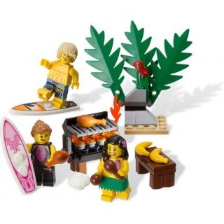 LEGO Minifigurky - Set Surfaři na Havaji