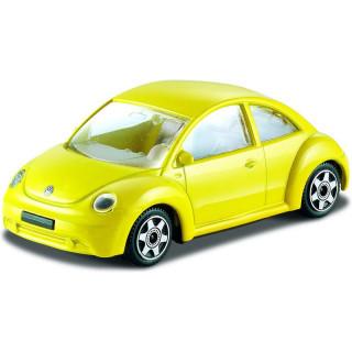Bburago Volkswagen New Beetle 1:43 žlutá