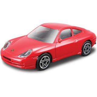 Bburago Porsche 911 Carrera 4 1:43 červená