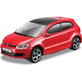 Bburago Volkswagen Polo GTI Mark5 1:43 červená