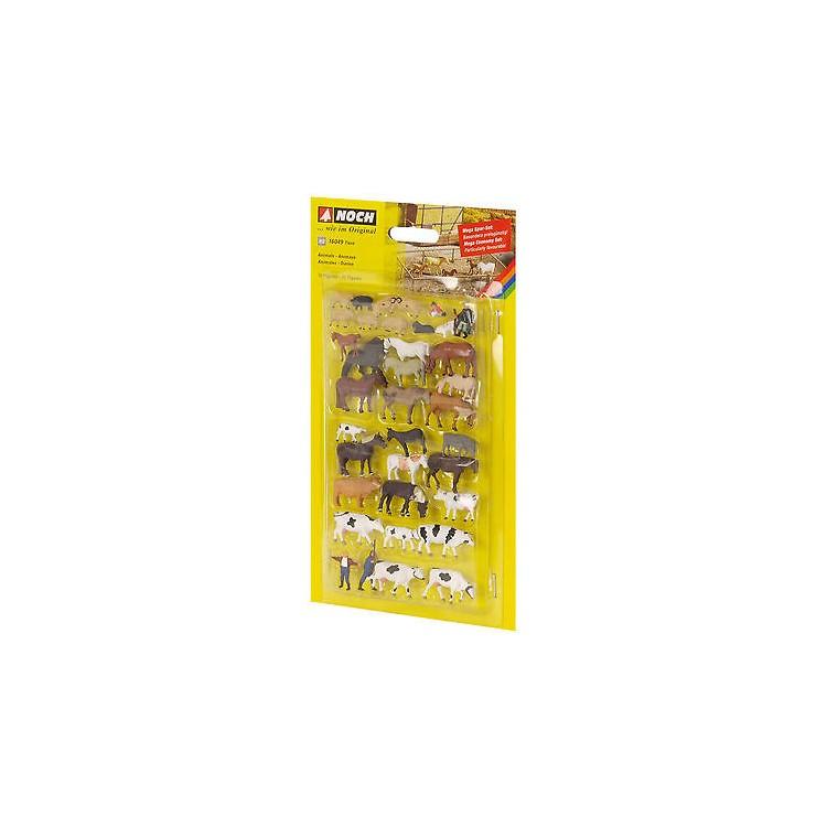 Mega-set - zvířata - 36 figúriek 16049