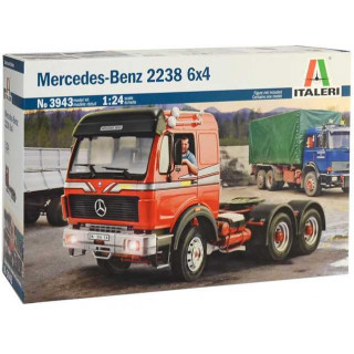 Model Kit truck 3943 - Mercedes-Benz 2238 6x4 (1:24)