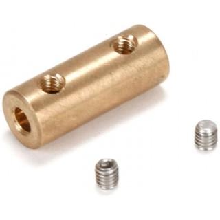 Spojka 3.3mm (motor)/3mm (ohebná hřídel)