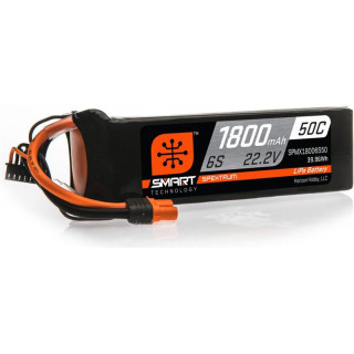 Spektrum Smart LiPo 22.2V 1800mAh 50C IC3