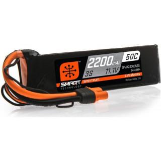 Spektrum Smart LiPo 11.1V 2200mAh 50C IC3
