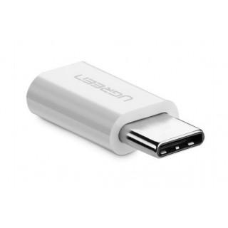 UGREEN redukce USB-C na Micro B, bílá