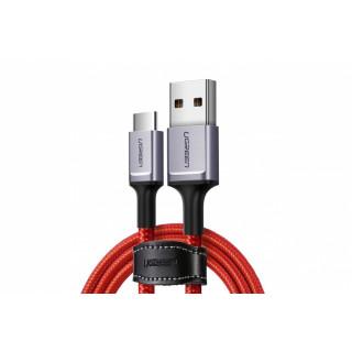UGREEN USB-C kabel 1m, červený