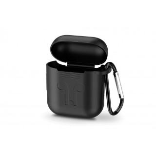 UGREEN AirPods silikonový obal s karabinou, černý