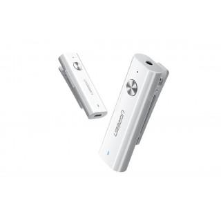 UGREEN Bluetooth 4.2 audio přijímač s 3.5mm jackem, bílý