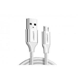 UGREEN Micro USB kabel 0.25m, bílý