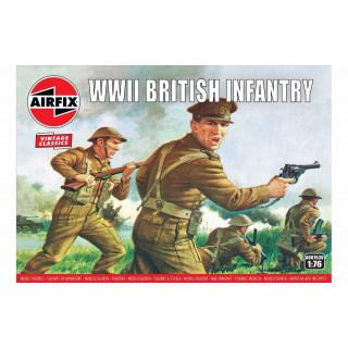 Classic Kit VINTAGE figurky A00763V - WWII British Infantry (1:76)