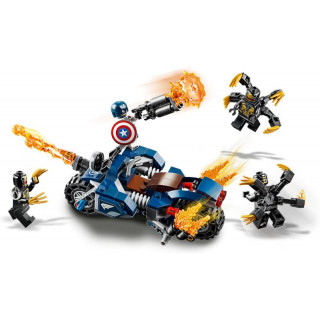 LEGO Marvel Avengers - Captain America útok Outriderů