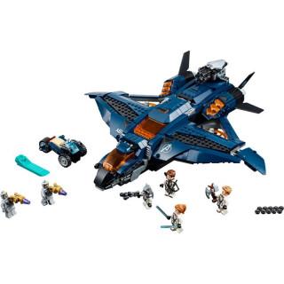 LEGO Marvel Avengers - Parádní tryskáč Avengerů