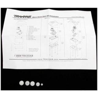 Traxxas - převody serva TRA2065