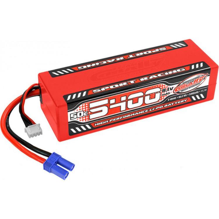 Corally LiPo Sport Racing 11.1V 5400mAh 50C EC5