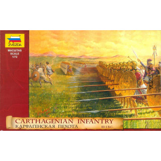 Model Kit figurky 8010 - Carthagenian Infantry (1:72)