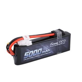 Gens ace 5000mAh 7.4V 50C 2S1P Lipo s Original TRX Connector