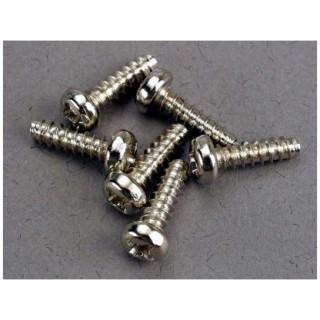 Vrut křížový půlkulatá hlava zink. 3x10mm (6)