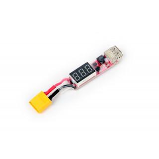 USB-XT60 nabíjecí adaptér pro Li-po