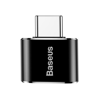 USB Female to Type-C Male Adapter Converter (Black)