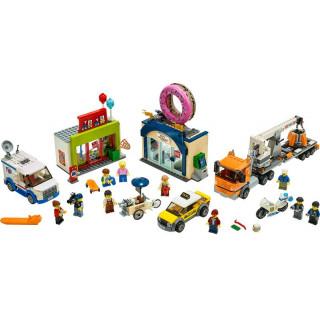LEGO City - Otevření obchodu s koblihami