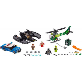 LEGO Super Heroes - Batmanovo letadlo a Hádankářova krádež