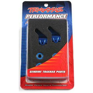 Traxxas - těhlice přední hliníková modrá