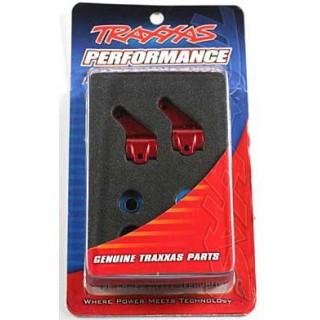 Traxxas - těhlice přední hliníková červená